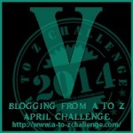 A to Z Blogging Challenge - Letter V