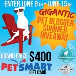 Celebrate Summer with a GIGANTIC Pet Blogger Giveaway