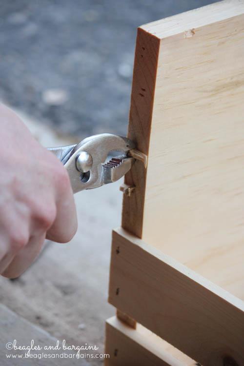 DIY Wooden Crate Pet Bed
