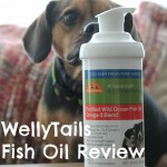 #WellyTails Fish Oil Helps My Dog's Skin and Coat