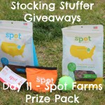 Stocking Stuffer Giveaway - Day 11 - Spot Farms Chicken Jerky