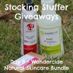 Stocking Stuffer Giveaway Day 8: Wondercide Natural Skin Care Bundle