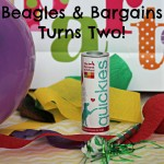 Beagles & Bargains Turns Two with Help from Quickies!