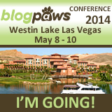I'm Going to BlogPaws 2014 - The Pet Blogging and Social Media Conference
