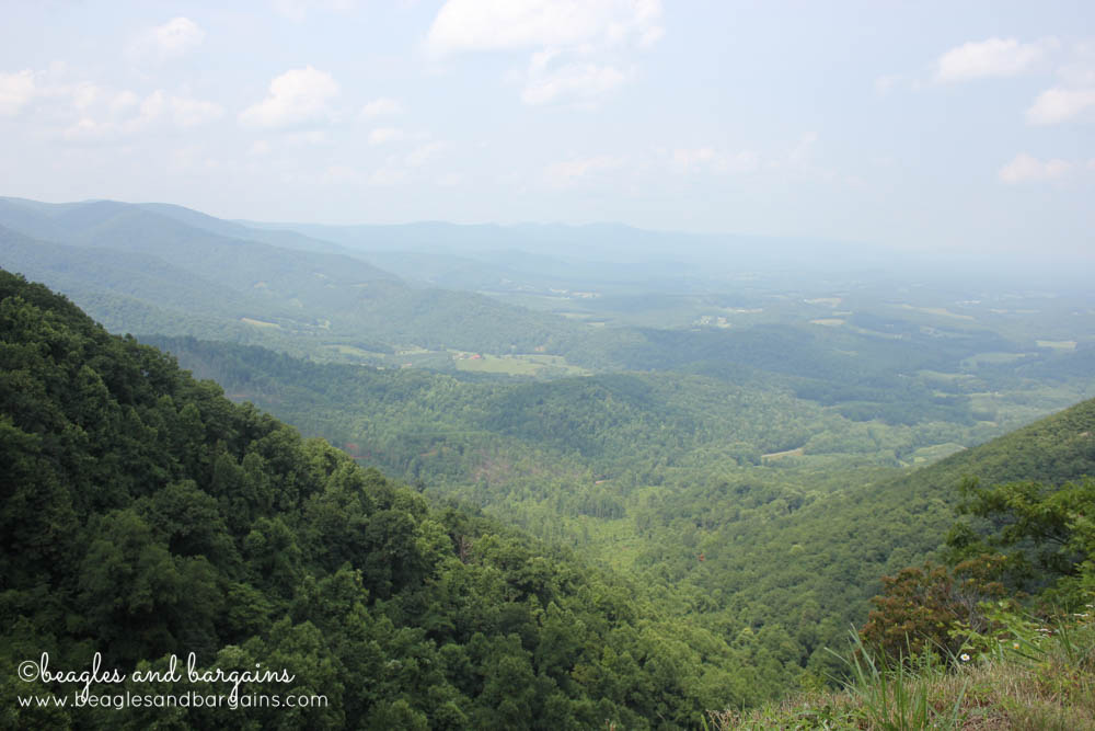 The view from Lover's Leap