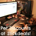 Find Money Saving Discounts for Pets on Slickdeals #SlickdealsPets
