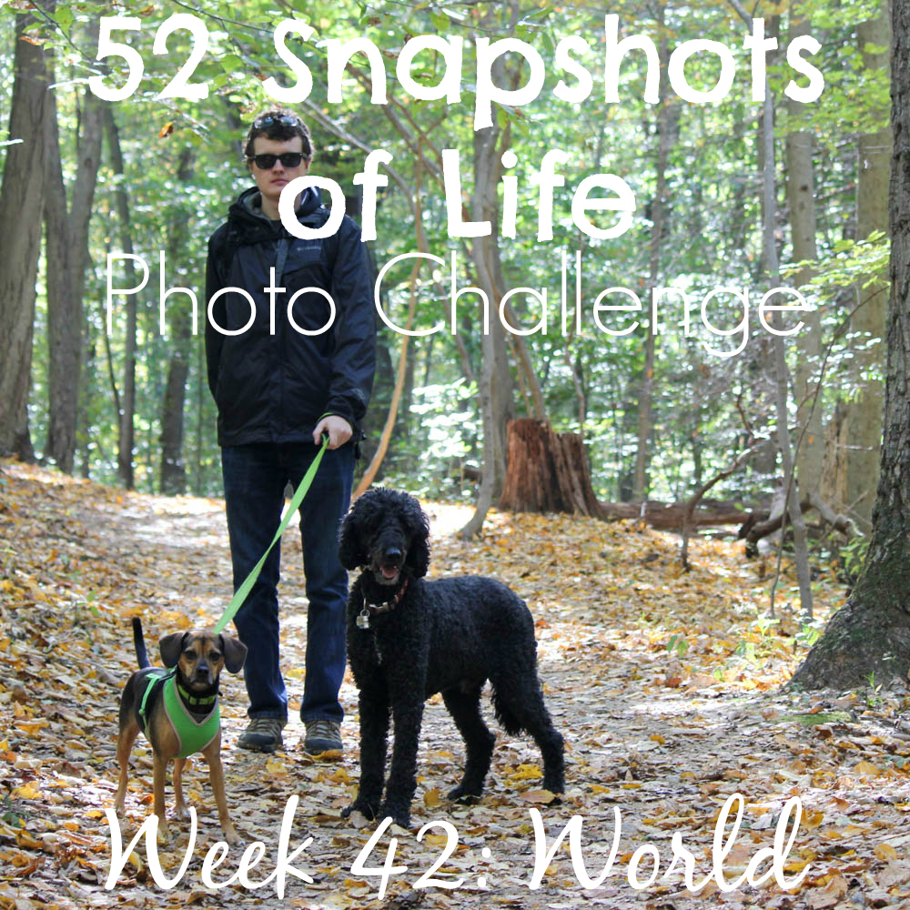 52 Snapshots of Life - Week 42 - World - Hiking on Top of the World