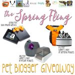 This is a BIG One! Spring Fling Pet Blogger Giveaway is Finally Here!