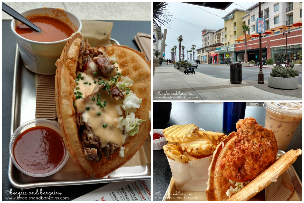 Belgian waffle sandwiches from Bruxie in Downtown Huntington Beach