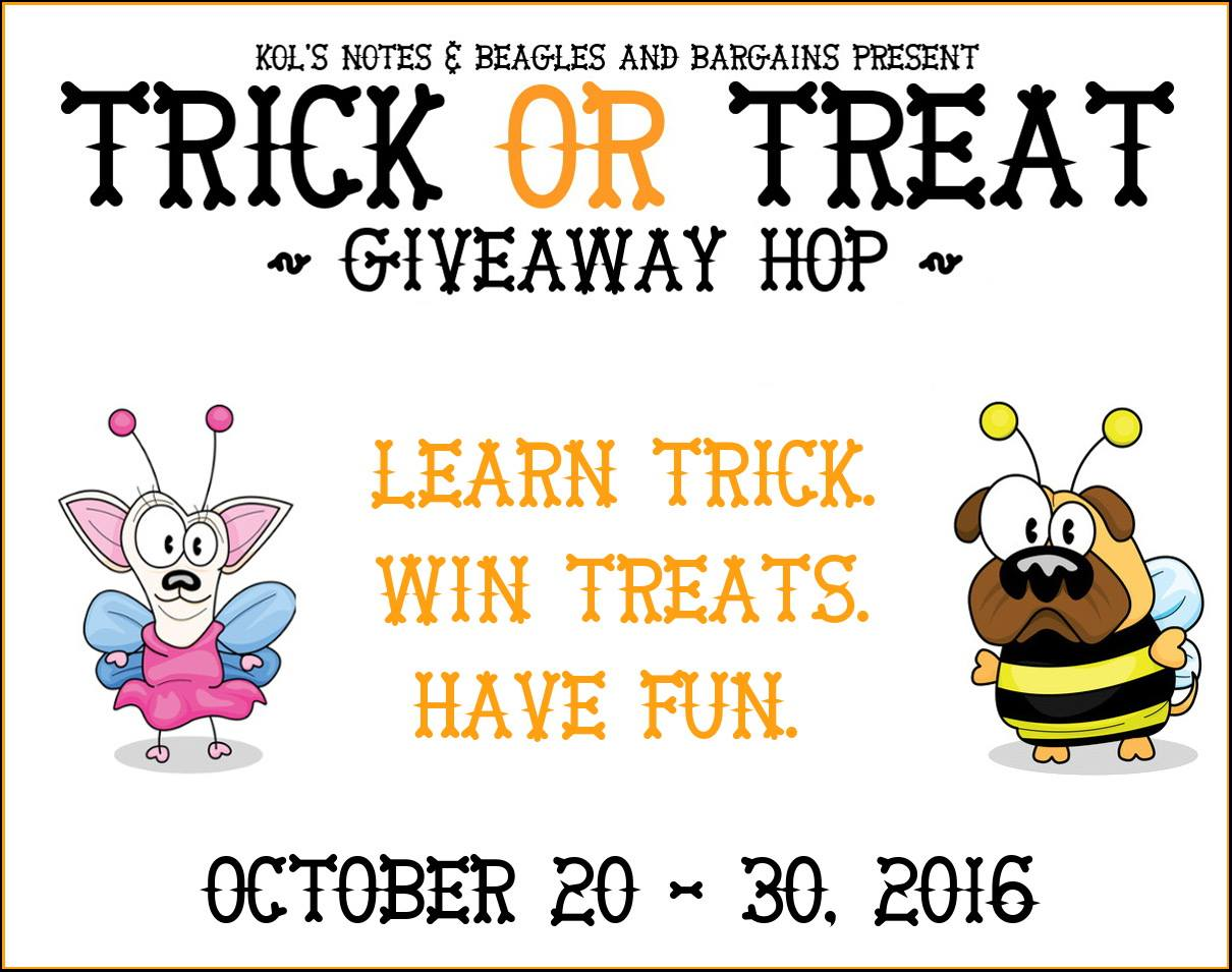 Trick or Treat Giveaway Hop 2016 - Hosted by Kol's Notes and Beagles & Bargains