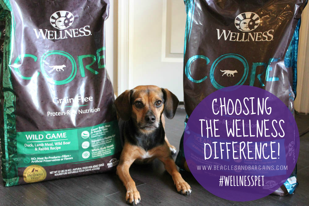 Luna can't wait to try Wellness CORE dry dog food. We're choosing the Wellness Difference!