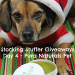 Stocking Stuffer Giveaway Day 4: Pura Naturals Pet