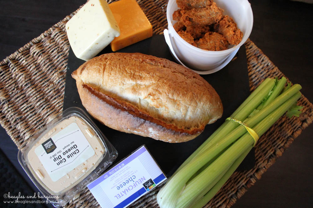 Super Bowl snacks from Whole Foods Market in Fair Lakes