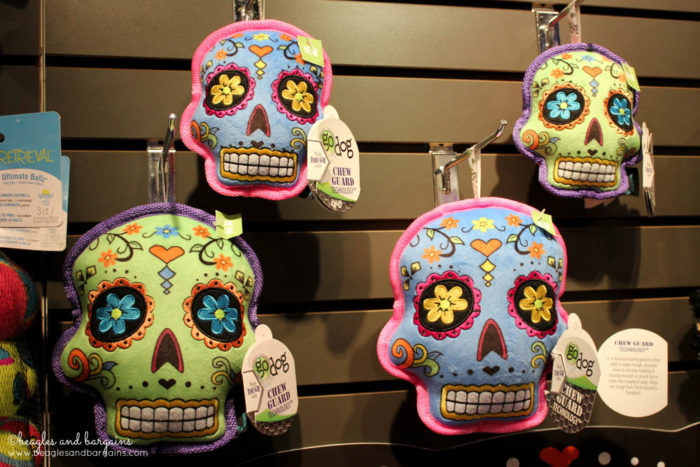 Top Pet Industry Trends for 2017 from the Global Pet Expo - Fun Dog Toys - GoDog Sugar Skulls