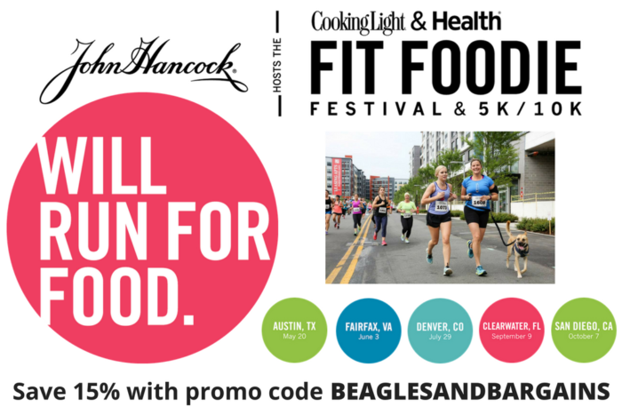 John Hancock Hosts The Cooking Light & Health Fit Foodie Festival & 5K - Fairfax, VA - June 3, 2017