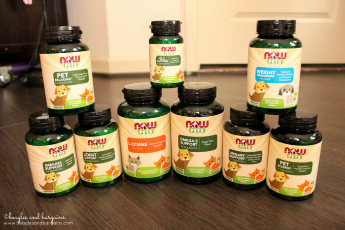 NOW Pets Supplements full line - Enter #NOWpetsSweeps to win!