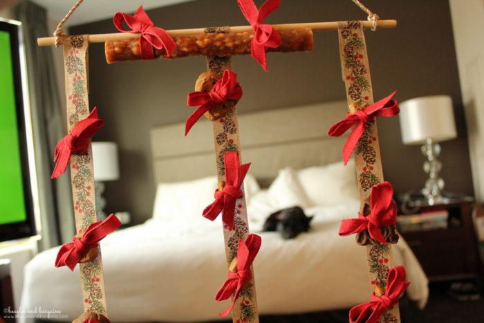 DIY Advent Calendar for Dogs - No Sew Craft Tutorial - Ralph