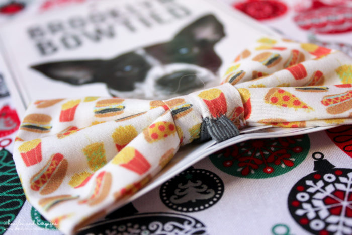 Why Every Dog Needs a Snazzy Bow Tie | Stocking Stuffer Giveaways | #sponsored by Brooklyn Bowtied