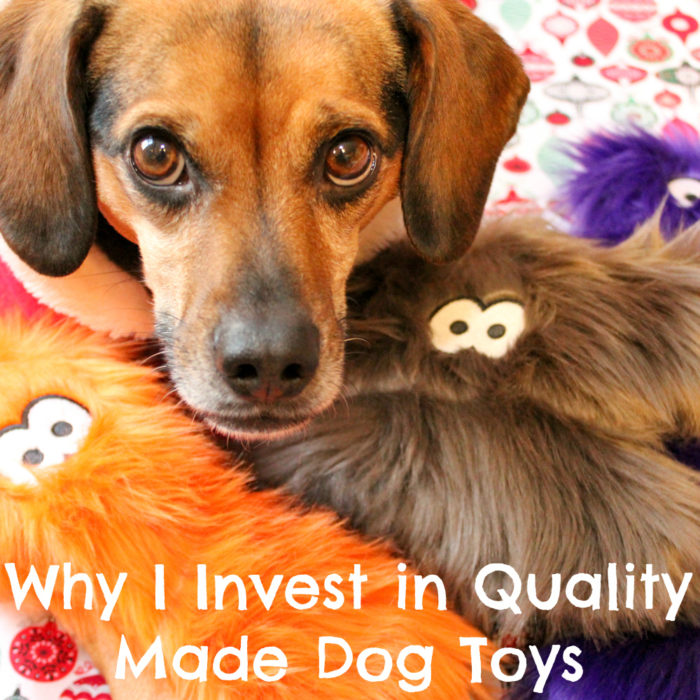 Why I Invest in Quality Made Dog Toys | Stocking Stuffer Giveaways | #sponsored by West Paw