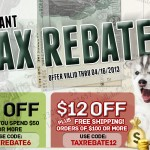 Instant Tax Rebate from EntirelyPets.com