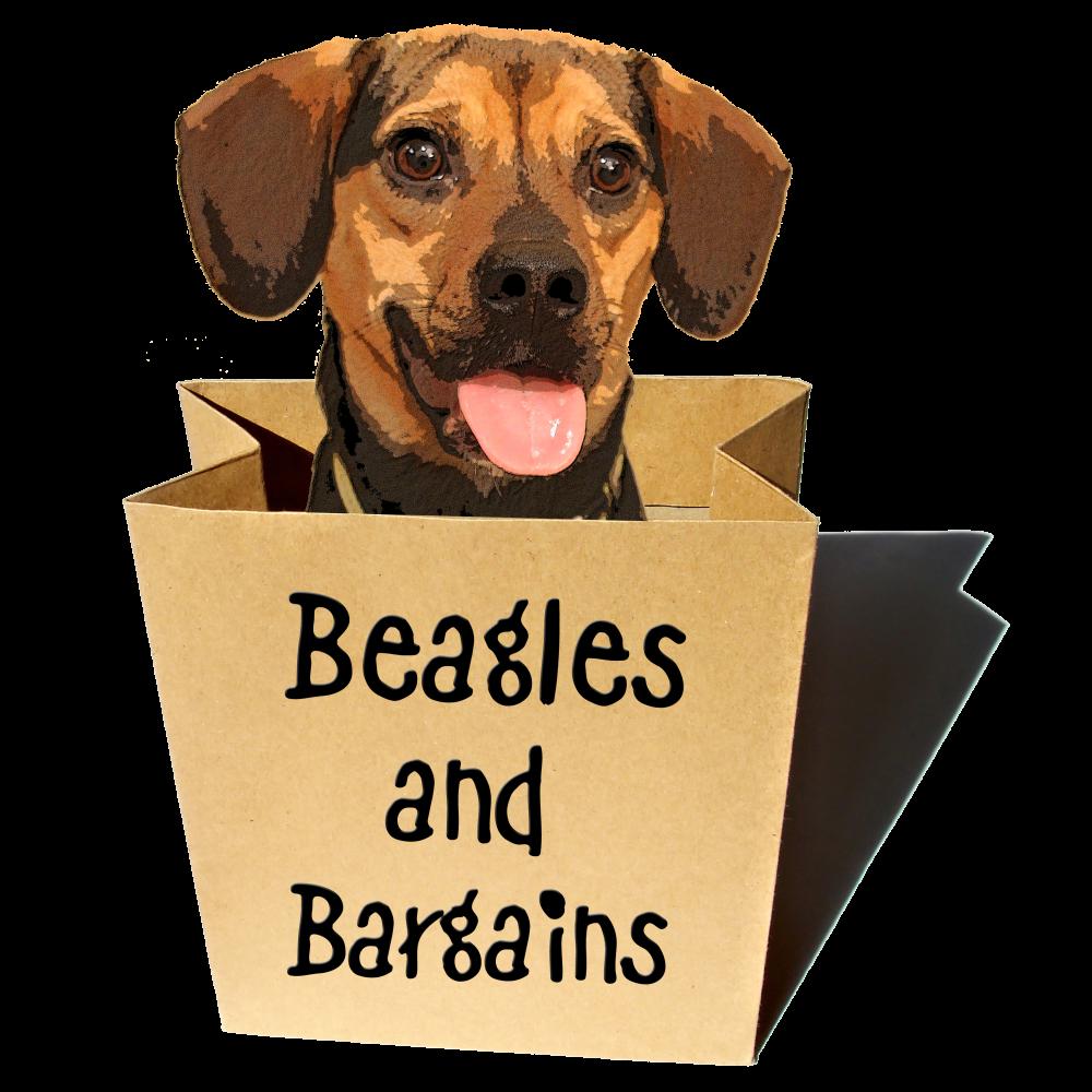 Beagles and Bargains Logo