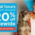 Petco – 20% Off PLUS Sweepstakes and Coupons