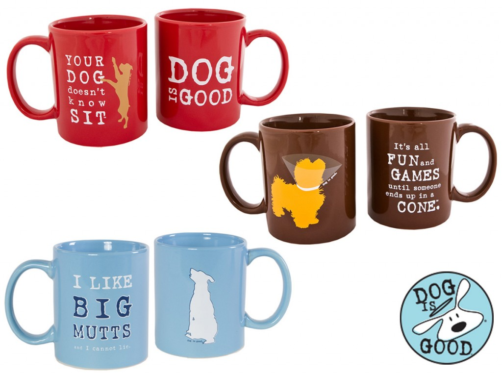 Dog Is Good Mugs - Photo Courtesy of Coupaw