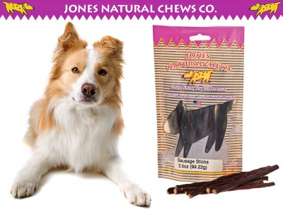 Jones Natural Sausage Sticks - Photo Courtesy of Coupaw