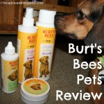 Product Review: Burt's Bees Natural Pet Care