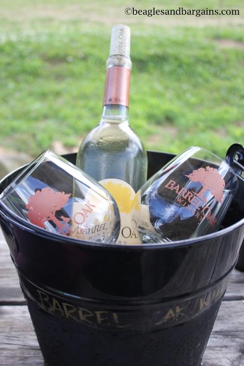 Lovely wine selection from Barrel Oak Winery.