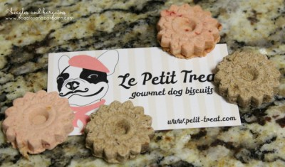 Two of four flavors from Le Petit Treats.