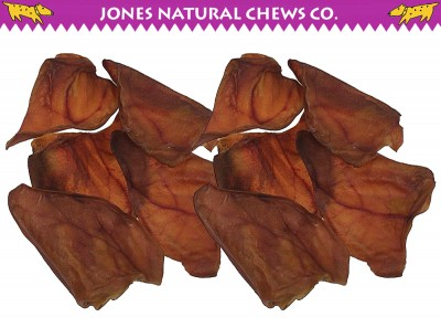 Pigs Ears from Jones Natural Chews - Photo Courtesy of Coupaw