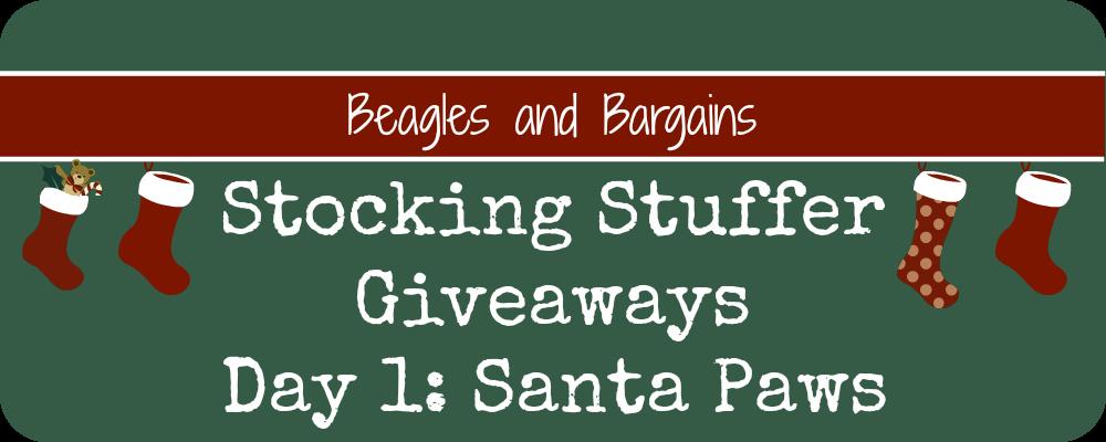 Stocking Stuffers Day 1 Santa Paws