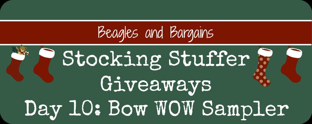 Stocking Stuffers Day 10 Bow WOW Sampler Three Dog Bakery