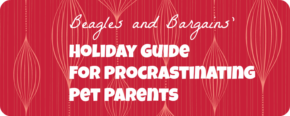 2013 Holiday Gift Guide for Procrastinating Pet Parents
