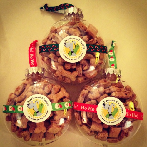 Win a Ornament full of Festive Feast treats from Tumbleweed & Eddie's