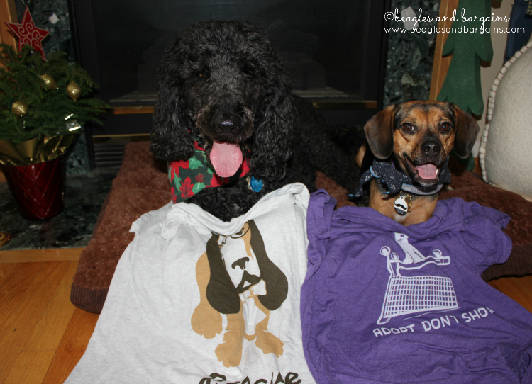 Luna and Cousin Keto definitely wear these RESQTHREADS shirts better than I do.