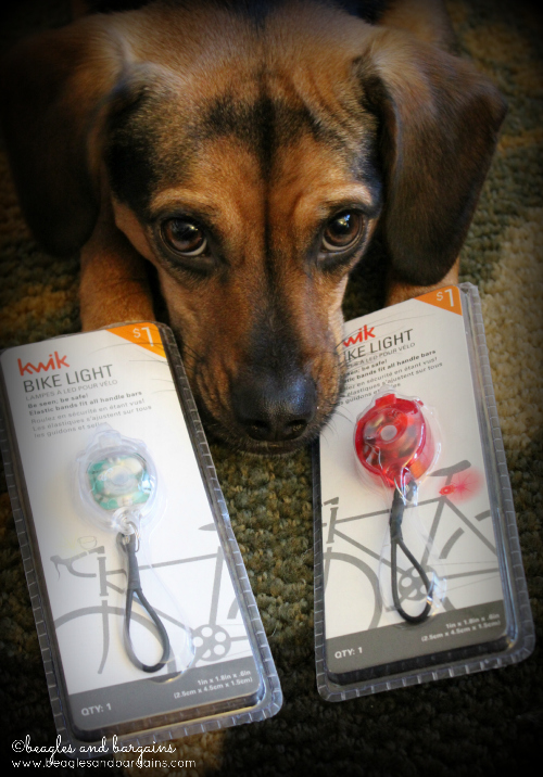 Kwik Bike Lights are perfect dog collar lights.