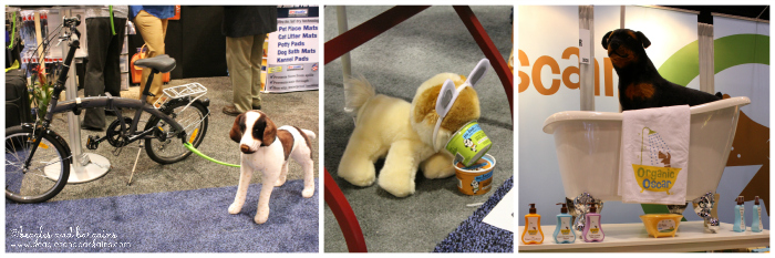 Stuffed animals at Global Pet Expo