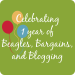 A Year of Beagles, Bargains, and Blogging