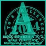 A to Z Blogging Challenge - Letter A