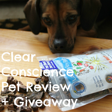 Clear Conscience Pet Review and Giveaway