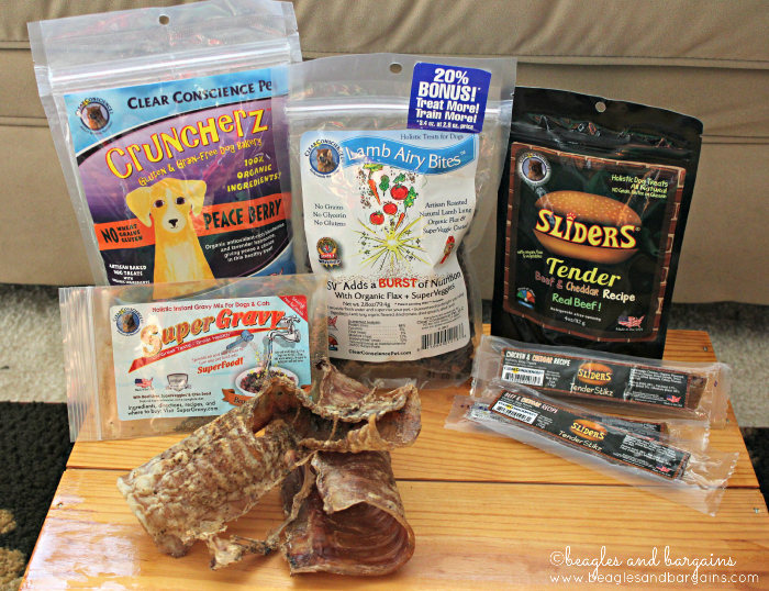 Clear Conscience Pet offers a wide variety of pet products.