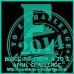 A to Z Blogging Challenge - Letter E