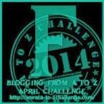 A to Z Blogging Challenge - Letter F