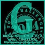 A to Z Blogging Challenge - Letter G