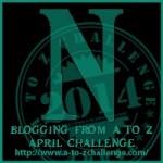 A to Z Blogging Challenge - Letter N