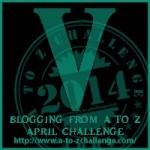 A to Z Blogging Challenge - Letter V