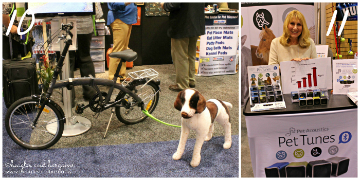 Woof Cyle Bike Trotter from Woof Cycle and Pet Acoustics Pet Tunes from Global Pet Expo