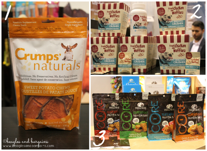 Crumps Naturals, Wellness CORE Superfood Protein Bars, and Fidobiotics from Global Pet Expo